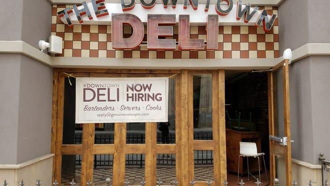 Downtown Deli Tavern opens Dec. 18 in downtown Phoenix.