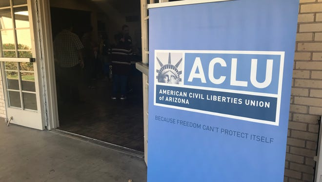 American Civil Liberties Union of Arizona and Los Abogados joined together on Saturday, Dec. 9, 2017 to host a clinic that would offer guidance to those who qualify for the Maricopa County Sheriff's Office Immigration Stops and Detention Compensation Fund.