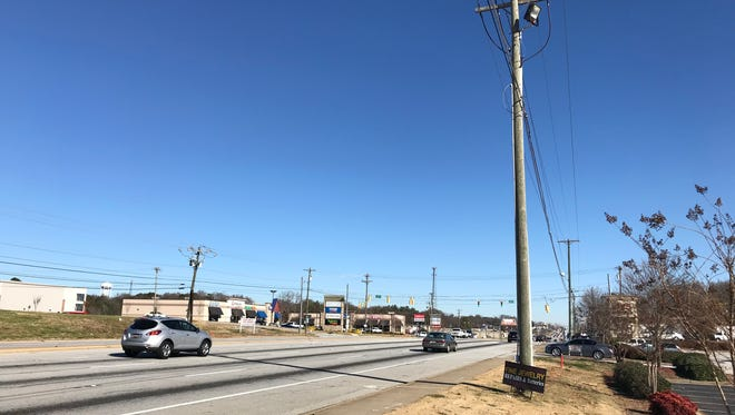 A reader noticed a lack of Christmas decoration along Wade Hampton Blvd and wanted to know why. Dec. 11, 2017