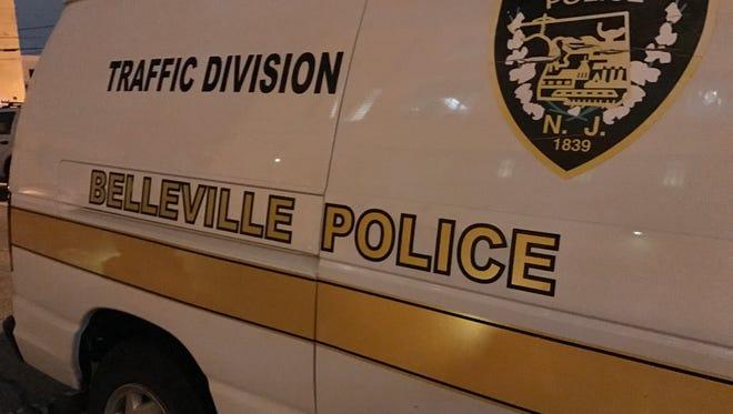 A Belleville Police Department vehicle