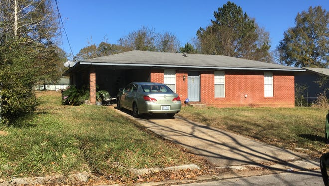 Hattiesburg police found some automatic weapons at this residence on the 300 block of Bowling Street after receiving reports of shots fired.