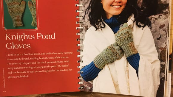 The Knights Pond Gloves can have cuffs as long as you want..