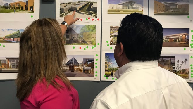 Del Mar College officials hosted a workshop Tuesday to devise the new Southside campus' architectural aesthetics.