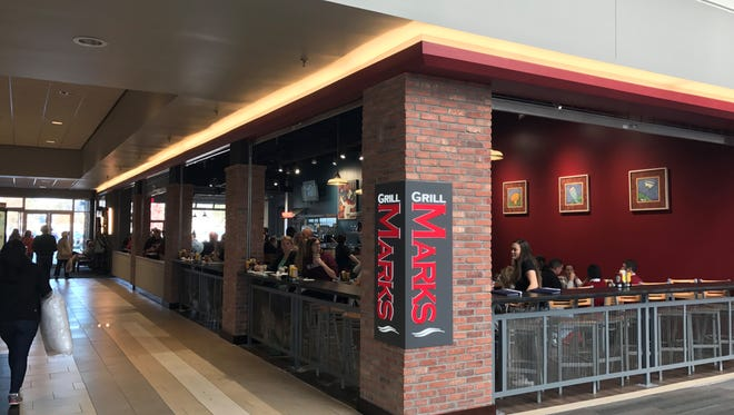 Grill Marks at Haywood Mall is the third location of the popular burger joint.