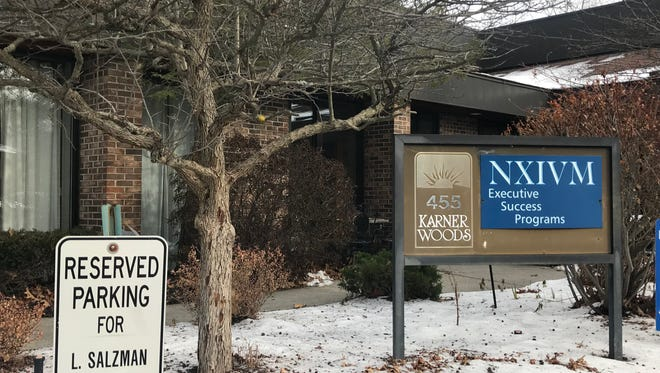 NXIVM's headquarters in the town of Colonie, a suburb of Albany. The self-help group has long been a source of controversy.