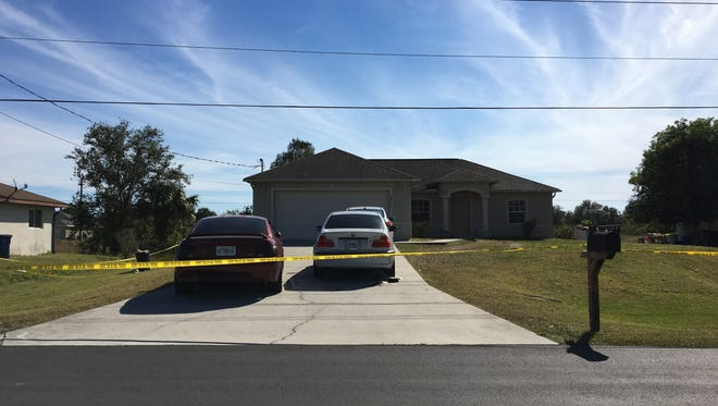 A double homicide was reported at a Lehigh Acres home overnight Saturday.