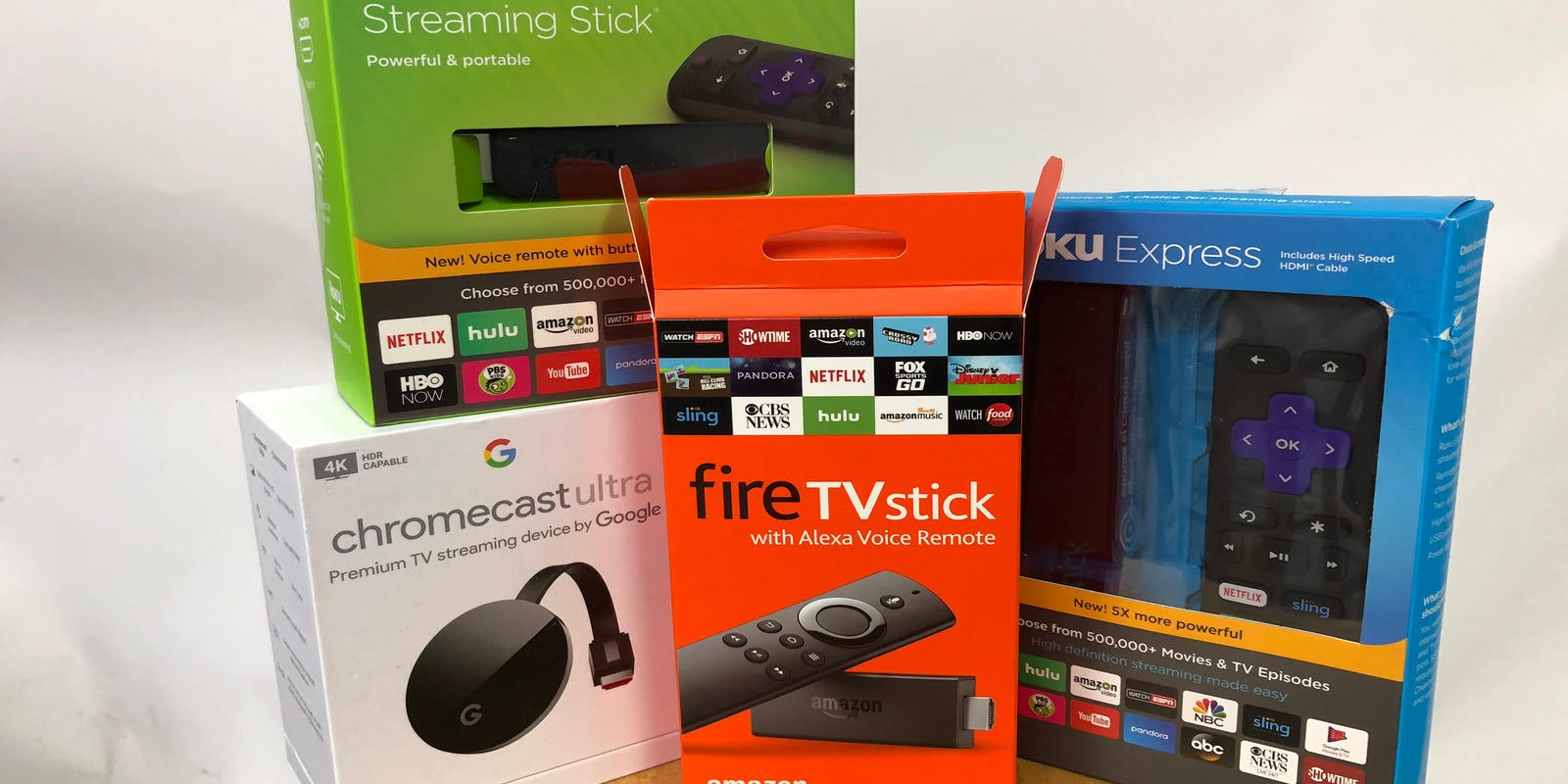 Apple Tv Vs Roku Amazon How To Choose A Streaming Player The Cable Line Ready Tvs Or Through An Adapter Box Set Top