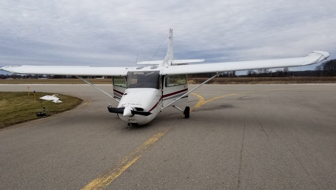 A small plane experienced a crash landing at Custer Airport in Monroe Dec. 21. There were no injuries.