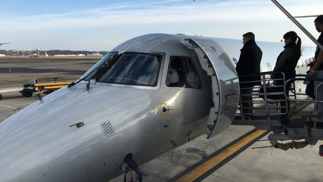 This American Airlines regional flight took Today in the Sky editor Ben Mutzabaugh from Washington to Toronto on his own year-ending status mileage run.