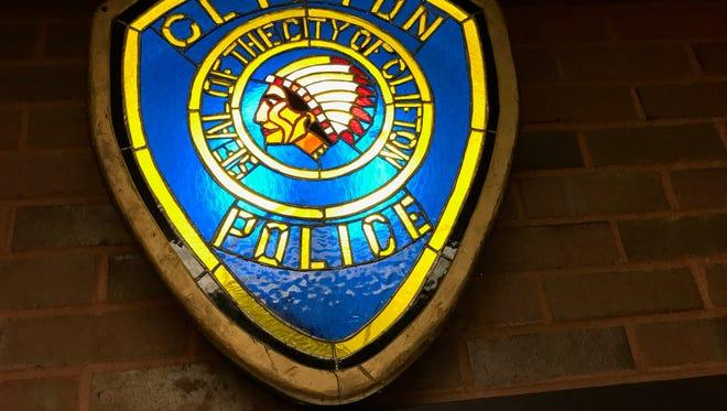 Clifton Police logo.
