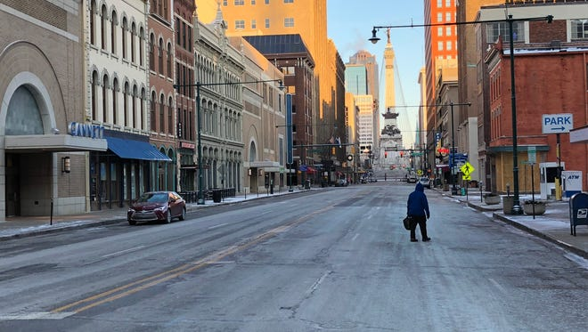 The low temperatures and slick roads residents woke to on Christmas morning will stick around throughout the week.