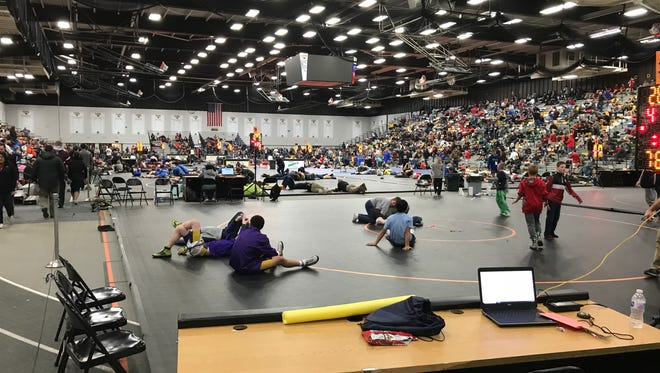The 64-team On The Water Classic kicked off at Kolf Sports Center on Friday and will conclude Saturday.