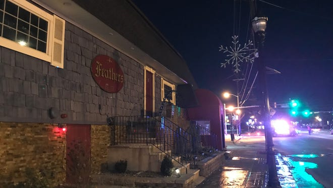 Authorities responded to a fire at Club Feathers in River Edge Jan. 1, 2018.