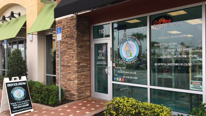 Best Ice Cream opened its second location off Six Mile Cypress in Fort Myers in December.