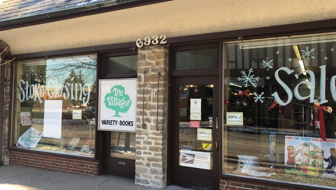 The Villager in Mariemont will close its doors this January.