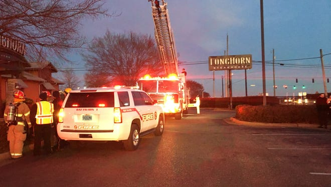 The Prattville Fire Department responded to a fire at Longhorn on Tuesday evening.