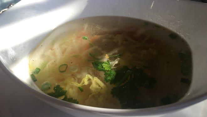 Yuan bao soup at Mosa.