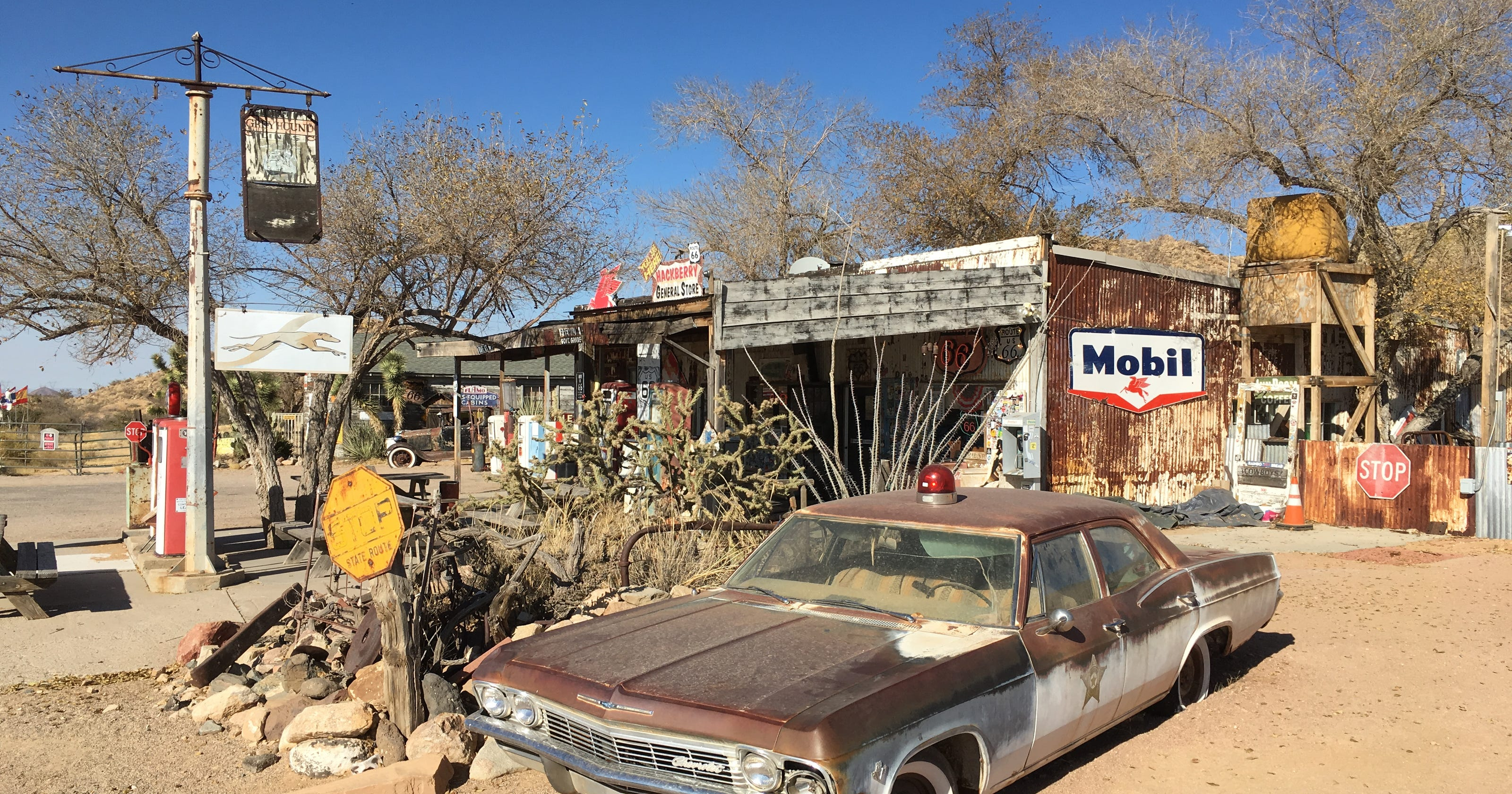 Route 66 Hackberry General Store