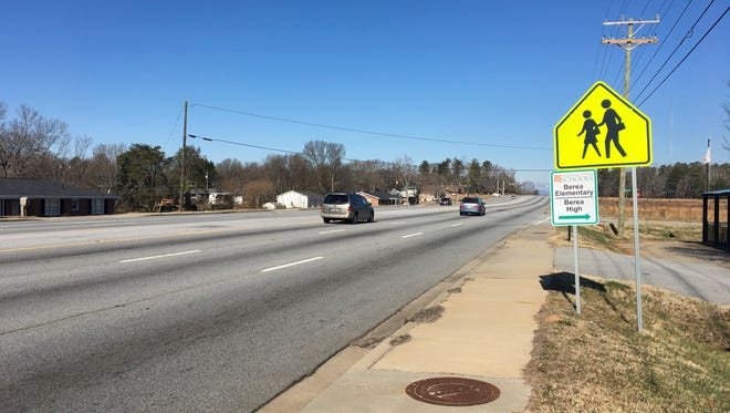 Berea residents want  a crosswalk on White Horse Road near the high school to improve safety for students who live nearby.