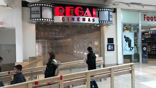 The West Town Mall 9 theater is closed for renovations to become a Cinebarre, Regal Entertainment Group's dine-in theater concept.