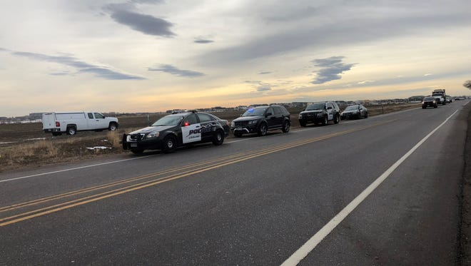 Loveland Police are investigating a body found in a field in east Loveland near Boyd Lake.