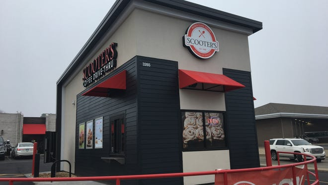 Scooter's Coffee opened its second Springfield location at 3265 E. Sunshine St., with a grand opening day scheduled for Jan. 19, 2018.