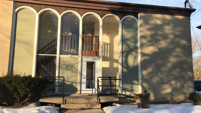 The building at 316 Riverview Drive has been partially renovated, according to Manitowoc Asset Improvements.
