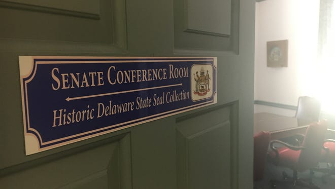 Senate President David McBride, D-Hawks Nest, said this week that he is ending the trial that gave lobbyists their own conference room at Legislative Hall conference room for about a month.