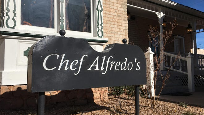 Chef Alfredo's is located at 68 Tabernacle St., St. George