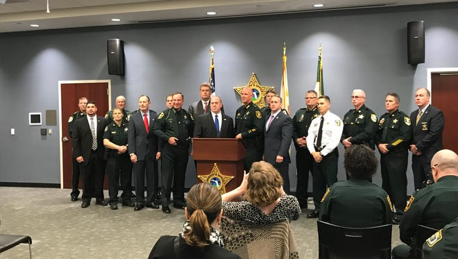 """Officials with U.S. Immigration and Customs Enforcement partnered with 17 Florida counties in what they're calling a """"housing agreement."""""""