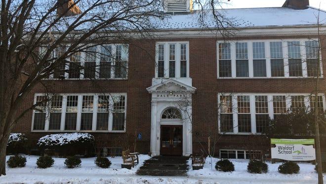 The Cincinnati Waldorf School, a grade school seen here on Jan. 18, 2018, has operated at this Chestnut Street address in Mariemont since 2013.