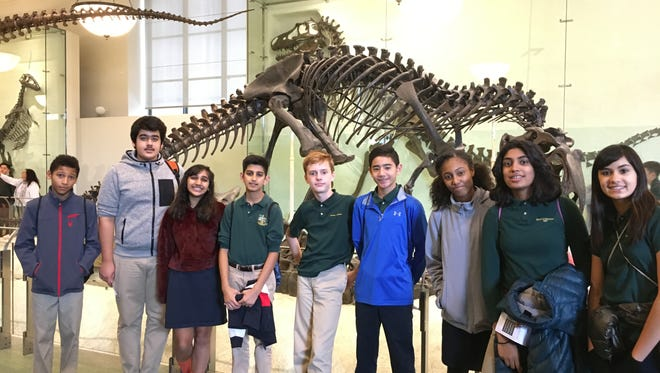 Wardlaw+Hartridge Eighth Graders visit Museum of Natural History in New York City