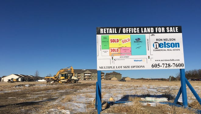 Land just north of 85th Street is selling, with ground breaking for a new Aldi grocery store.
