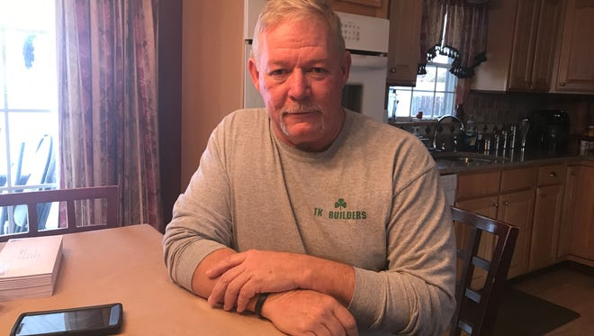 Thomas King, 59, of Toms River, is chairman of the Ocean County St. Patrick's Day Parade.
