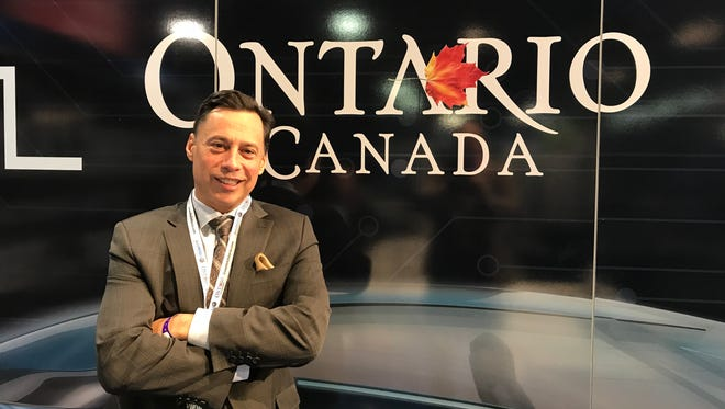 Brad Duguid, Ontario's minister of Economic Development and Growth, spoke to the Free Press during the 2018 North American International Auto Show in Detroit.