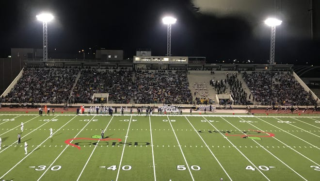 Buc Stadium hosted its largest crowd of the season when Miller and Moody played.