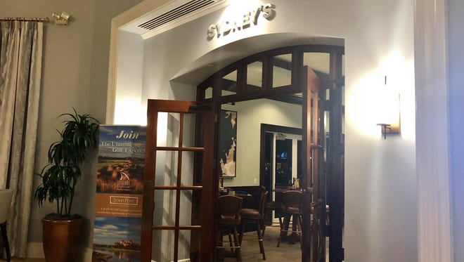 Sydney's Pub is located inside the Tirurón Golf Club in North Naples. It started full dinner service in January.