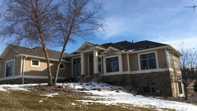 This house, 3000 S. St. Francis Lane in Sioux Falls, sold recently for $780,000.