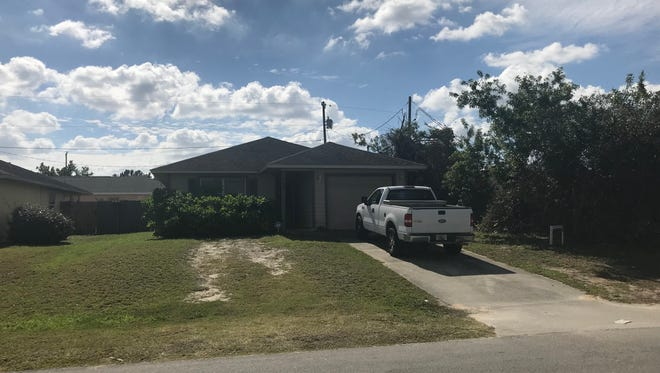 A man was shot Feb. 1, 2018, by a homeowner who woke up to someone breaking down his front door in the 300 block of 14th Place Southwest, Indian River County.