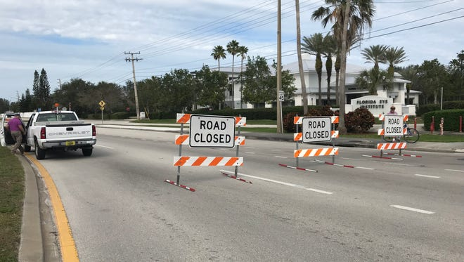 A bicyclist was hit and killed by a vehicle on Indian River Boulevard Feb. 2, 2018.