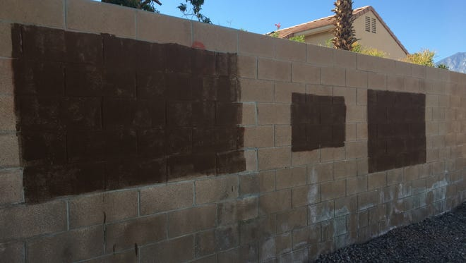 Six pieces of property were vandalized in Cathedral City's La Parada neighborhood. Neighbors say swastikas were among the graffiti.