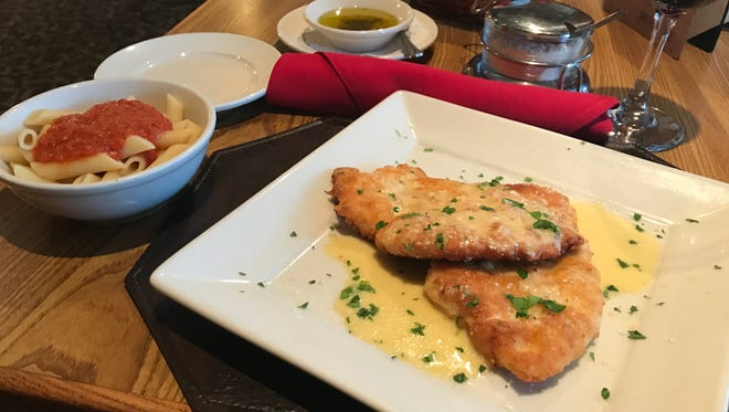 Angelina's Ristorante in Delafield prides itself on serving up traditional Italian fare with old family recipes such as the Chicken Romano.