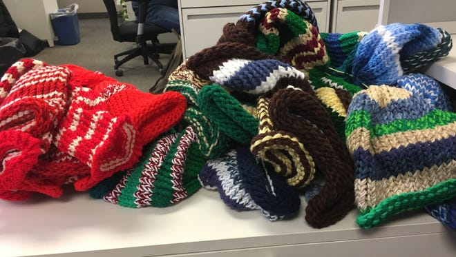 After I wrote this column, dozens more hats arrived. I can't wait to see what need manifests itself that we can meet with them.