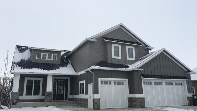 This 3,012-square-foot home at 1200 S. Scarlet Oak Trail in the Arbor's Edge development near Willow Run Golf Course in northeast Sioux Falls was build last year and sold for $675,000 - the top sale for the week ending Jan. 19.