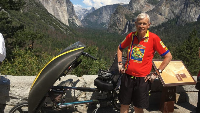 Phil Knoll at Yosemite National Park in July 2017.