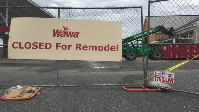 The Lewes Wawa Location is one of 75 older stores Wawa plans to remodel in 2018. Monday, Feb. 12, 2018.
