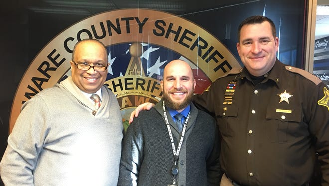 Local pastors Kevin Woodgett and Andrew Draper met with Sheriff Ray Dudley this week about the creation of a civilian review board.