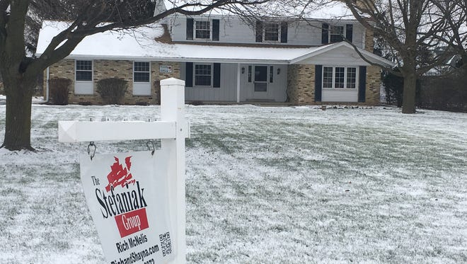 January home sales rose in the four-county metro Milwaukee area in spite of a shortage of homes on the market for first-time buyers.