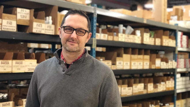 Marty Boyer, the new owner and president of Theatre House, the 63-year-old Covington theater supply house that recently re-opened after a six-month closure.