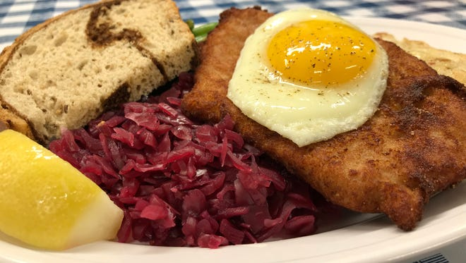 The Thursday special at the Schwabenhof in Menomonee Falls is build-your-own schnitzel. Thursday hours are new at the restaurant, previously open only Wednesday and Friday.